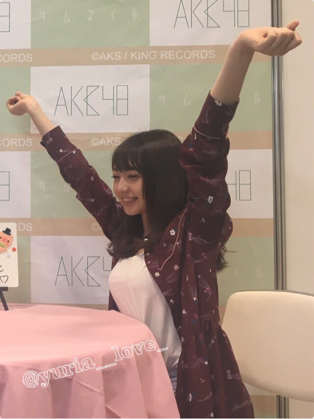 AKB48の写メ会で撮られた木崎ゆりあの着衣横乳