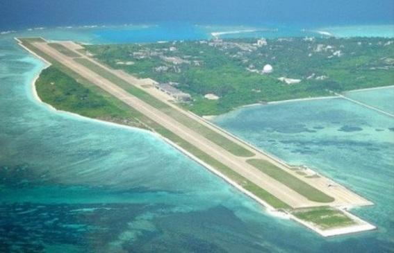 南沙諸島人工島 写真
