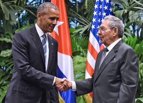 オバマ大統領 キューバ訪問
