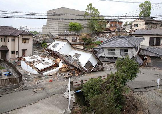 熊本地震 写真