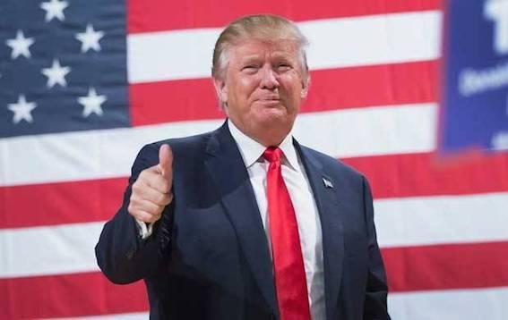 トランプ大統領 勝利