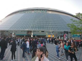 開演前東京ドーム
