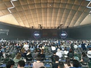 東京ドーム天井