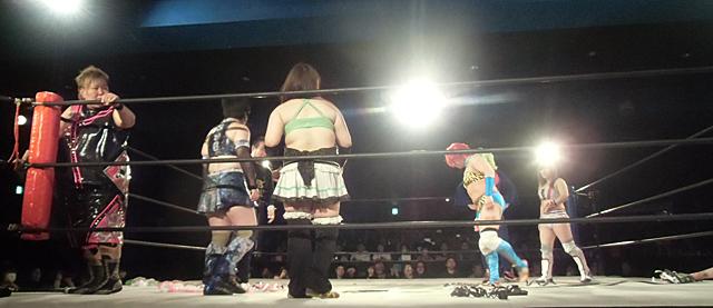 2-豪華女子6人タッグマッチ
