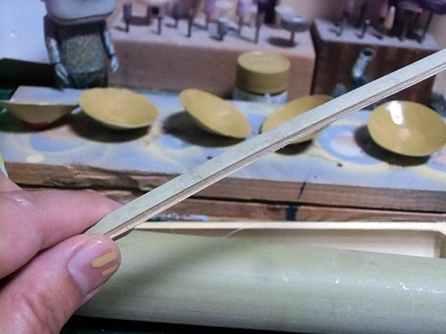 細く割いた竹