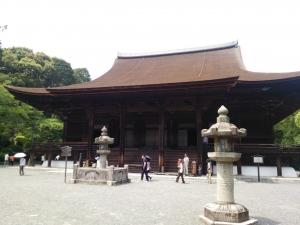 み三井寺本堂