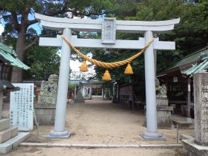 つ都波伎神社え (2)