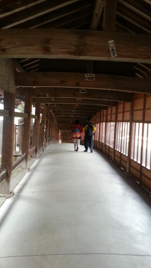吉備津2回廊
