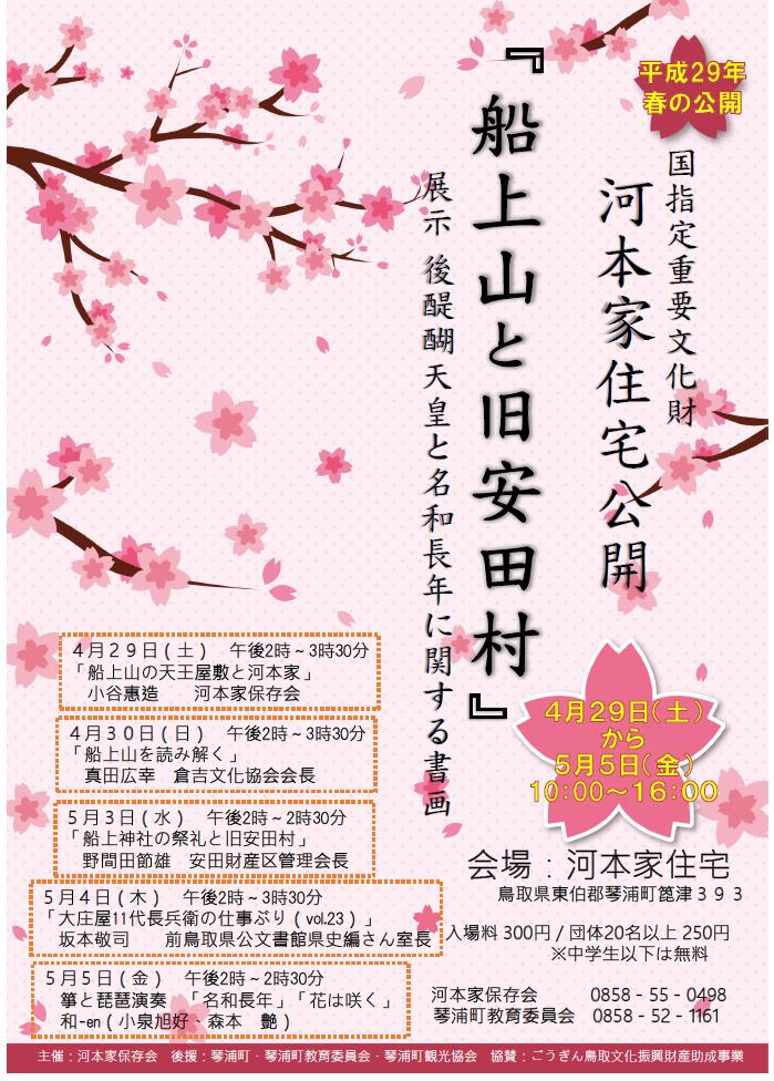 平成29年春の公開