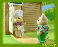 ミケネコさんとネズミさん