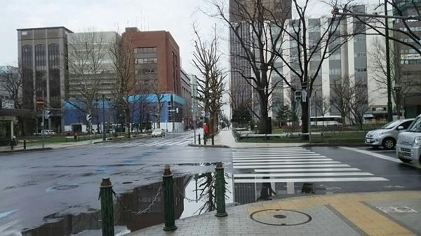 20170422用・積雪なくなった