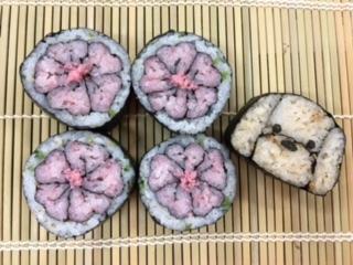 桜とトイプードルよみうり浦和