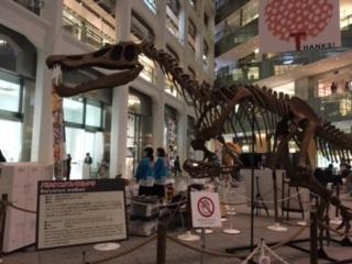 KITTEの恐竜