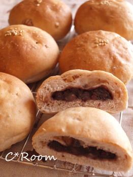 菓子パン(あんパン)01