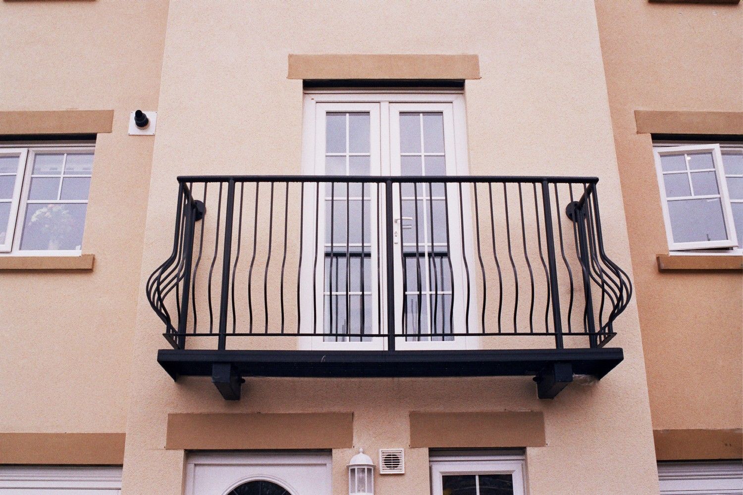 Bowed Balcony