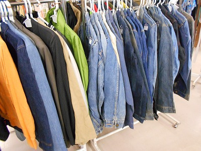 済-men Jeans jacket