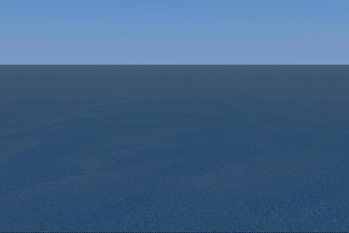 クラウドで作った海