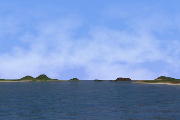 New海面と諸島