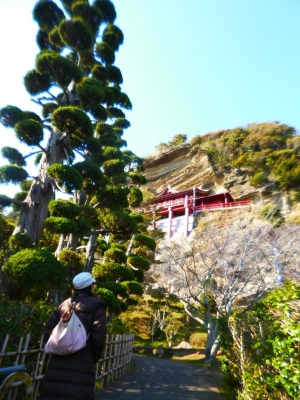 大福寺崖観音