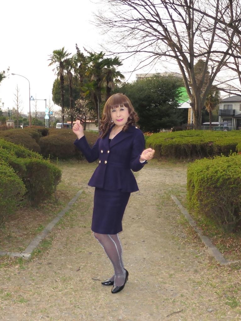 紺色のダブルジャケットA(2)
