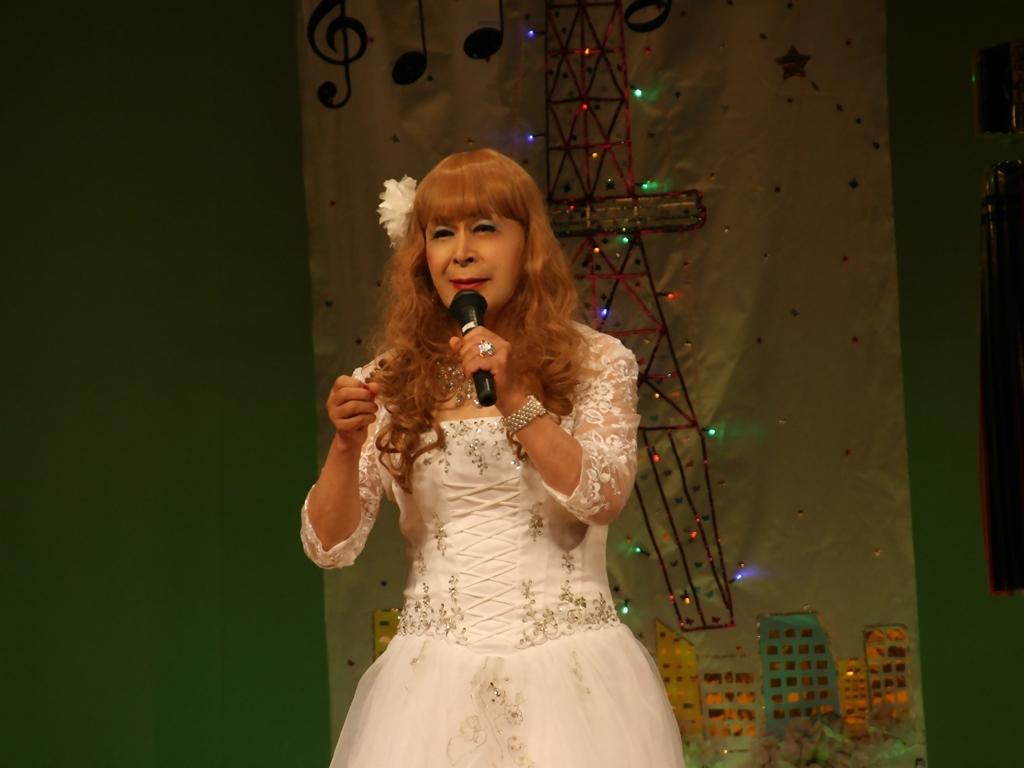 白ドレス舞台おんな炎B(3)