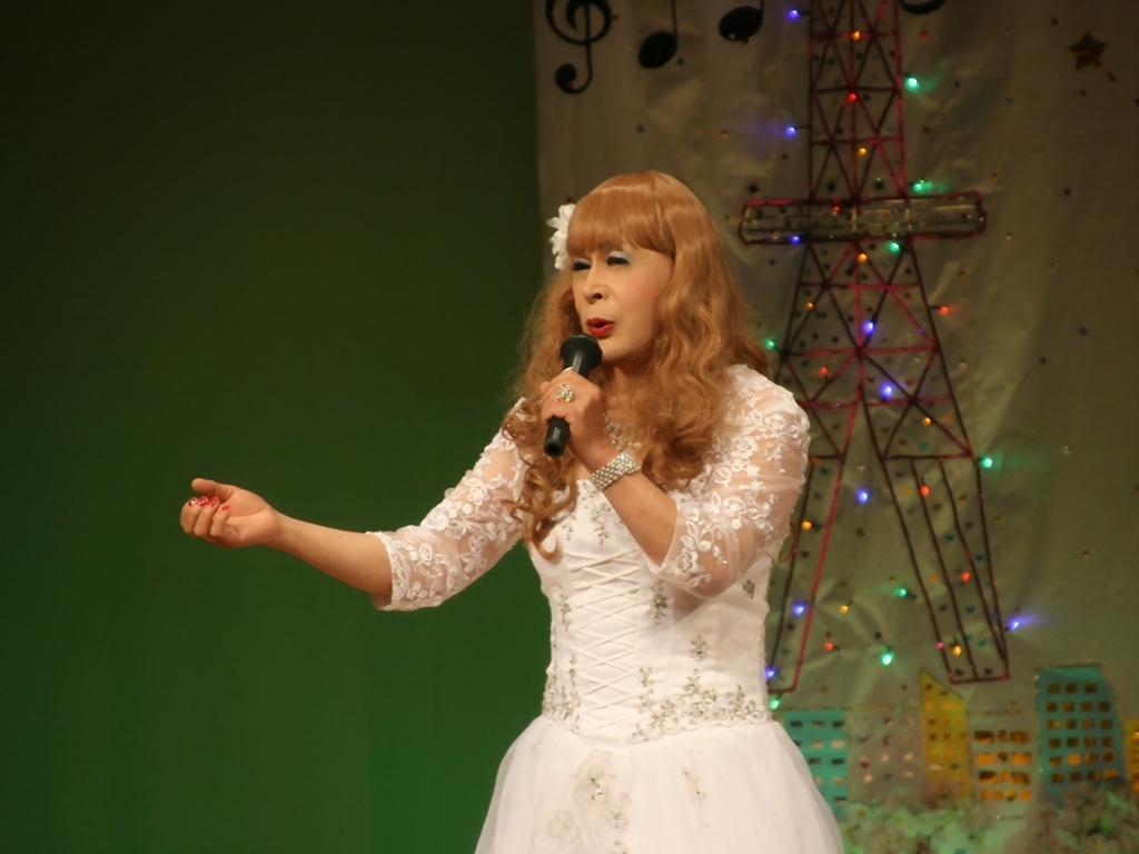 白ドレス舞台おんな炎B(5)