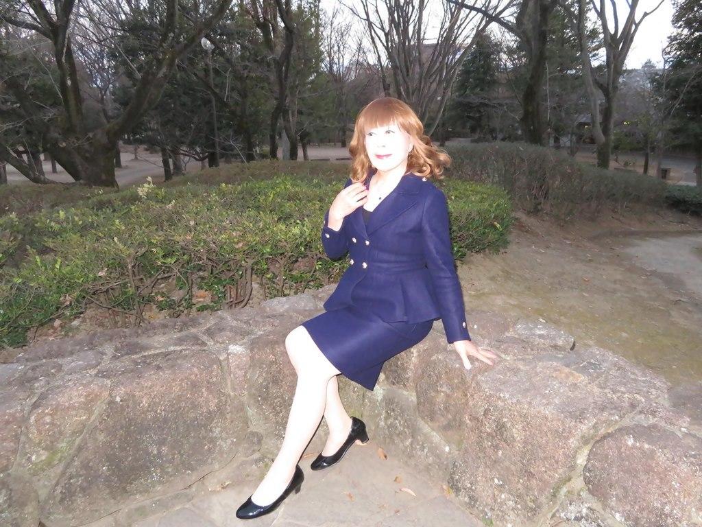 紺のダブルボタンスーツB(7)