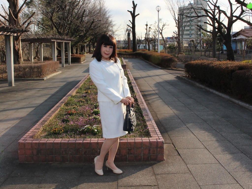白セットアップスーツA(7)