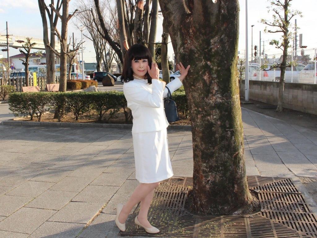白セットアップスーツB(6)
