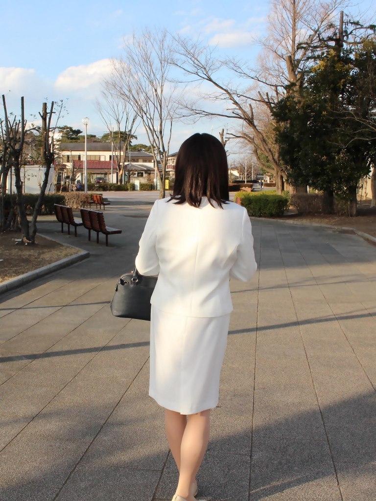 白セットアップスーツB(4)
