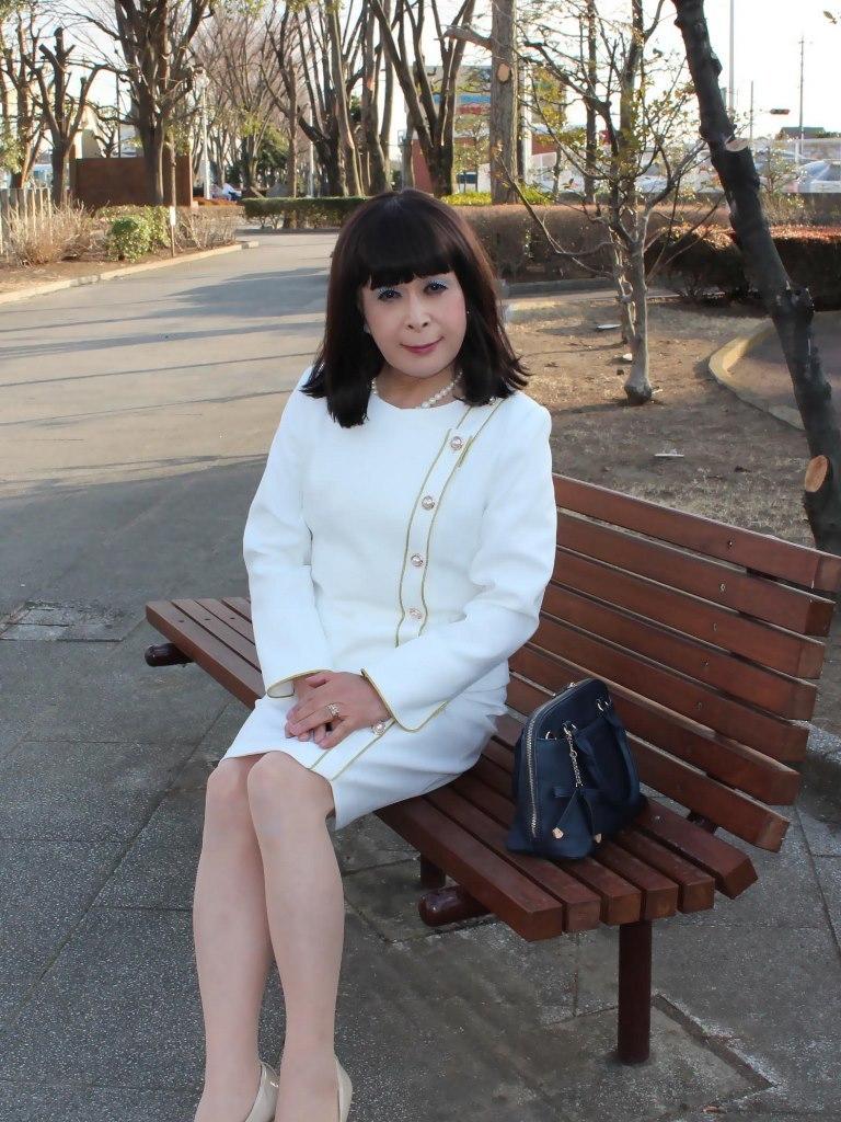 白セットアップスーツC(3)
