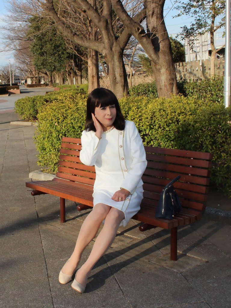 白セットアップスーツC(1)