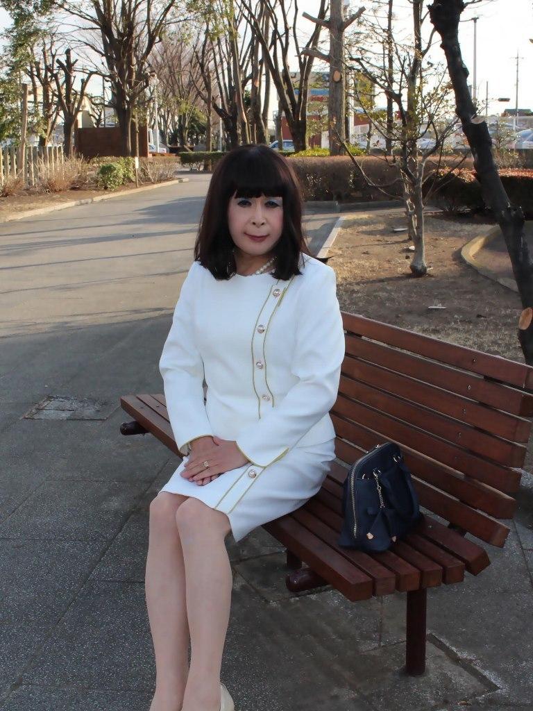 白セットアップスーツC(2)