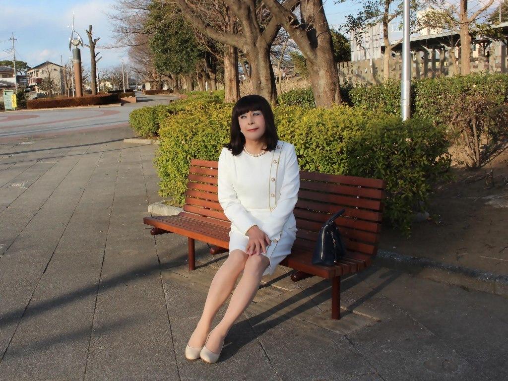 白セットアップスーツC(6)