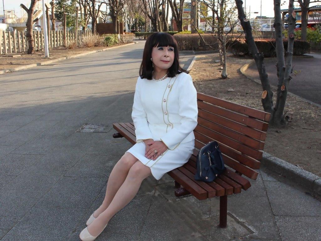 白セットアップスーツC(5)
