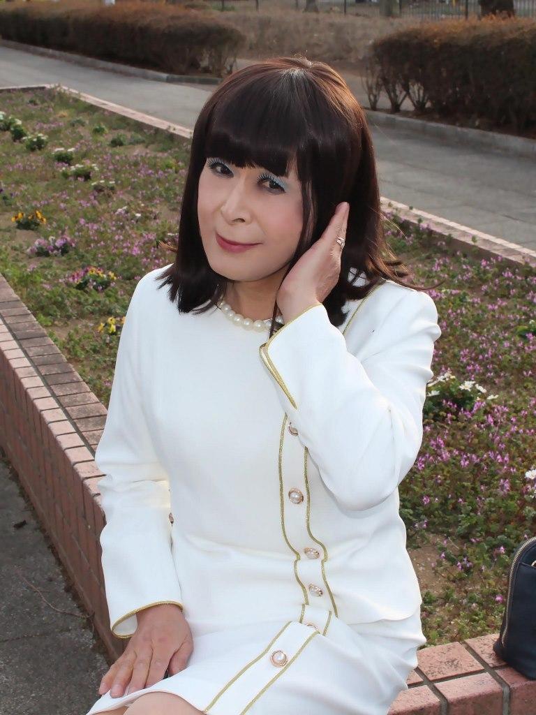 白セットアップスーツD(5)