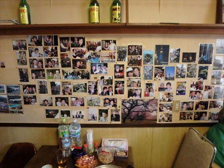 居酒屋 ソウルに貼られた写真 ①