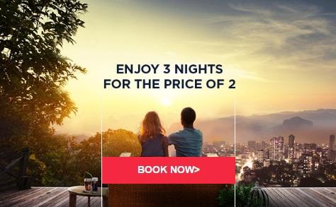 アコーホテル  3泊目は無料のグローバルセール