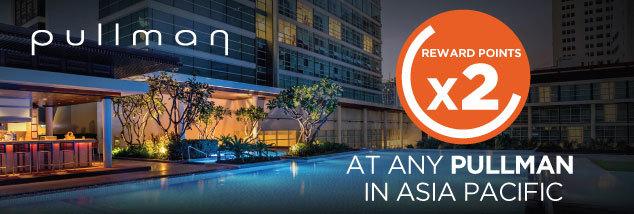 ル・クラブ・アコーホテルは、アジア太平洋のプルマンホテルでの滞在にダブルポイント