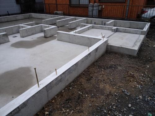 2月1日 基礎工事完成 (6)