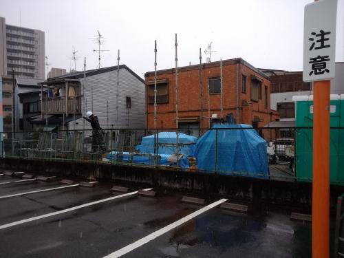2月9日 先行足場 (6)