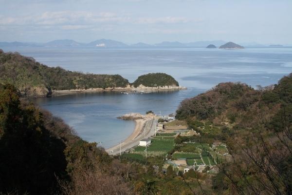 IMG_7671 峠から見る津和地港(600x400)