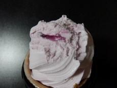 ワッフルコーン紫いも