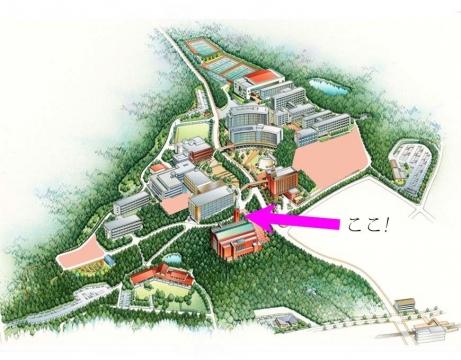 金城学院大学マップ