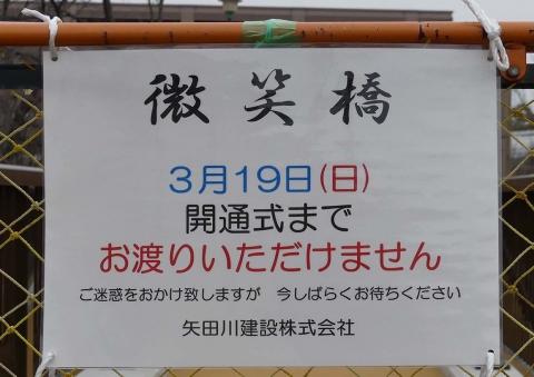 白沢渓谷新微笑橋(2)