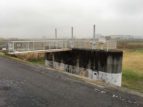 川北排水樋管
