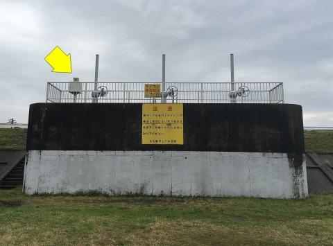 川北排水樋管2
