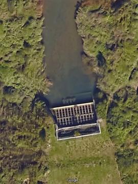 川北排水口