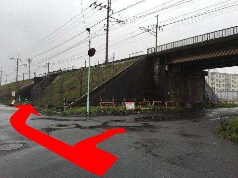 トンネルが二つあった