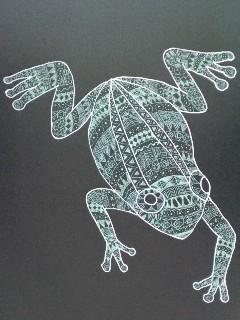 ゼンタングル?風蛙